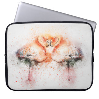 Flamingo Neoprene Laptop Sleeve 15 inch