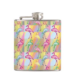 Flamingo Parade Flasks