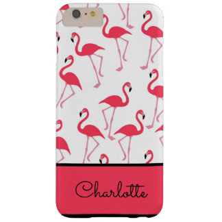 Flamingo Pattern Barely There iPhone 6 Plus Case