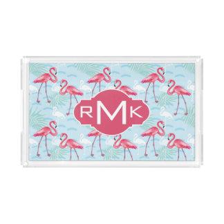 Flamingo Pattern | Monogram