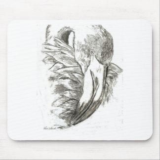 Flamingo patterns mouse pads