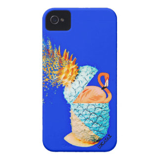 Flamingo Pineapple iPhone 4 Case-Mate Cases