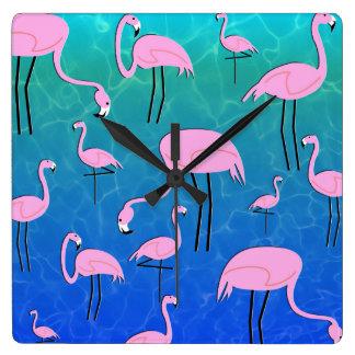 Flamingo Pond Clocks
