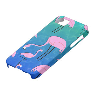 Flamingo Pond iPhone 5 Cover