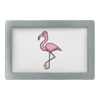 Flamingo Rectangular Belt Buckles