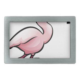 Flamingo Safari Animals Cartoon Character Belt Buckle
