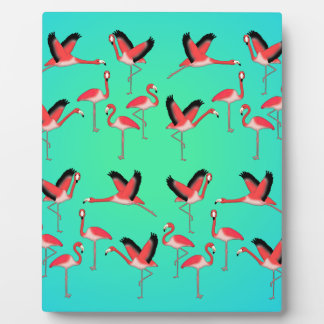 Flamingo selection z plaque