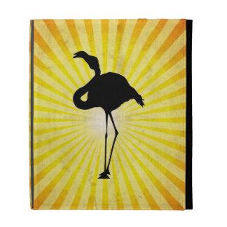 Flamingo Silhouette iPad Folio Case