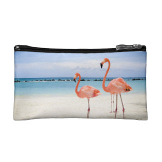 Flamingo Stroll Cosmetic Bags