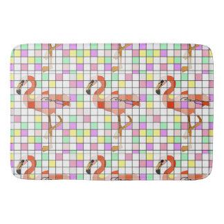 Flamingo Tiles Bath Mats