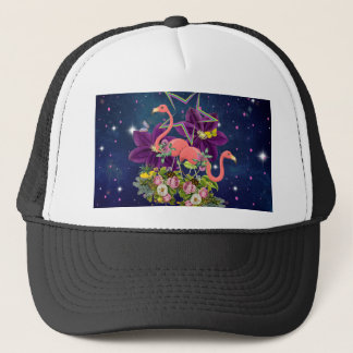 Flamingo Trucker Hat