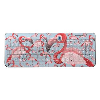 Flamingo Wireless Keyboard