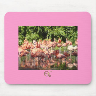Flamingoes Mouse Pad