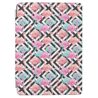 Flamingoes on Bold Design Pattern