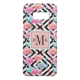 Flamingoes on Bold Design Pattern Case-Mate Samsung Galaxy S8 Case