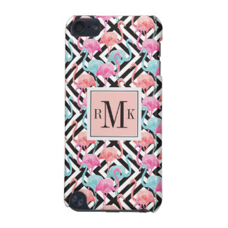 Flamingoes on Bold Design Pattern iPod Touch (5th Generation) Cases