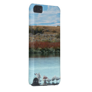 Flamingos at dusk iPod touch (5th generation) cover