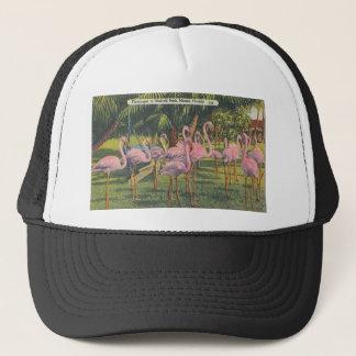Flamingos at Miami, Florida Trucker Hat