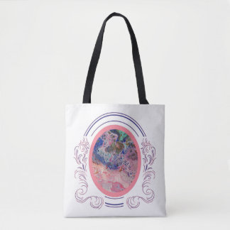 Flamingos by the Sea Tote Two