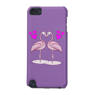 Flamingos in Love iPod Touch (5th Generation) Covers