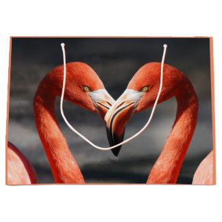 Flamingos Large Gift Bag