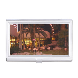 Flamingos, Las Vegas Business Card Holder