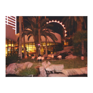 Flamingos, Las Vegas Canvas