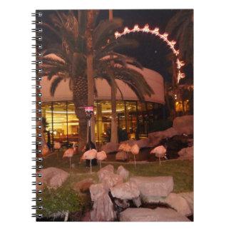 Flamingos, Las Vegas Notebook