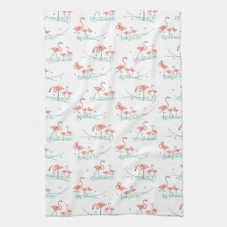 Flamingos Multi kitchen towel