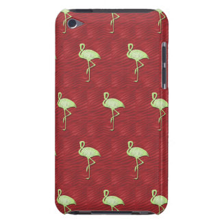 Flamingos pattern barely there iPod covers