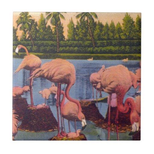 Flamingos Tiles