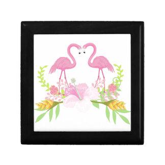 Flamingos TROPICAL Gift Box