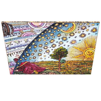 Flammarion Dome Canvas Print Large Canvas Awesome