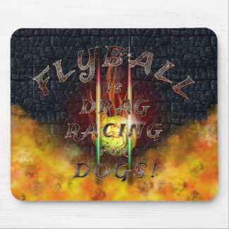 Flamz: Drag Racing for Dogs! Mouse Pad