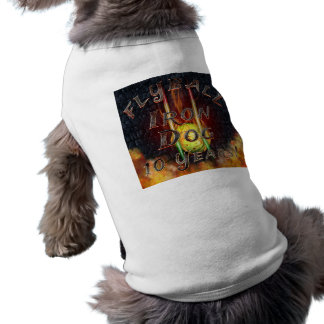 Flamz Flyball Iron Dog - 10 years of competition! Shirt