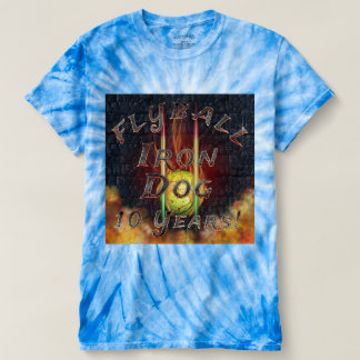 Flamz Flyball Iron Dog - 10 years of competition! T-Shirt