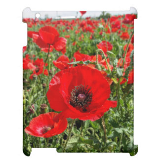 Flanders Poppy Ipad Case