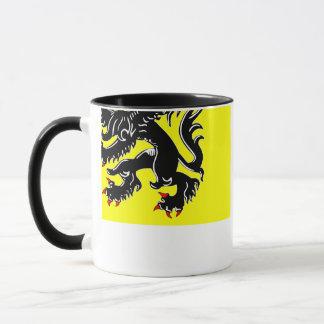 Flanders Region Flag Mug