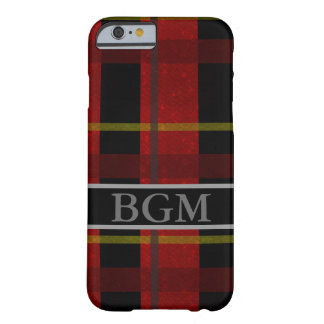 Flannel Phone Case with Monogram