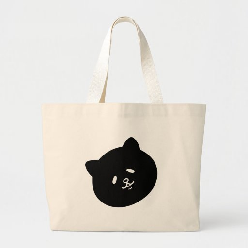 Flap eye ku ro cat canvas bags