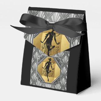 Flapper Art Deco Gatsby Small Tent Party Box