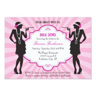 Flapper Bridal Shower Invitation