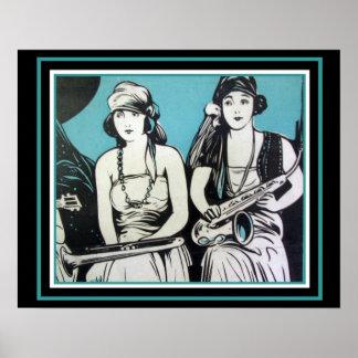 """""""Flapper Jazz""""  16 x 20 poster"""