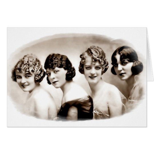 Flappers Card