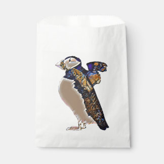 Flapping Puffin Favour Bag