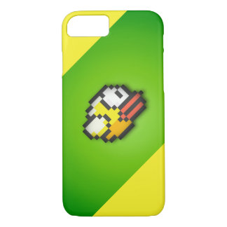 Flappy Bird - Toxic Green/Yellow Background HD V iPhone 7 Case