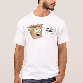 "Flappy Says ""Eat More Cardboard"" T-Shirt"