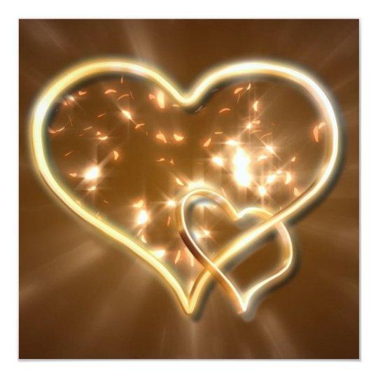 Flare of Love Valentine Invite