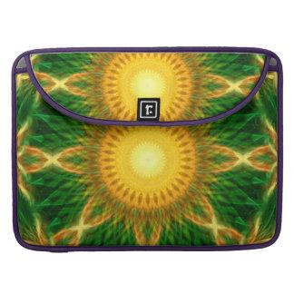 Flare Star Mandala MacBook Pro Sleeve