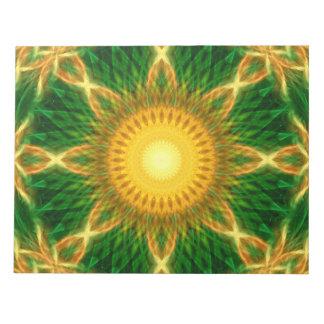Flare Star Mandala Notepads